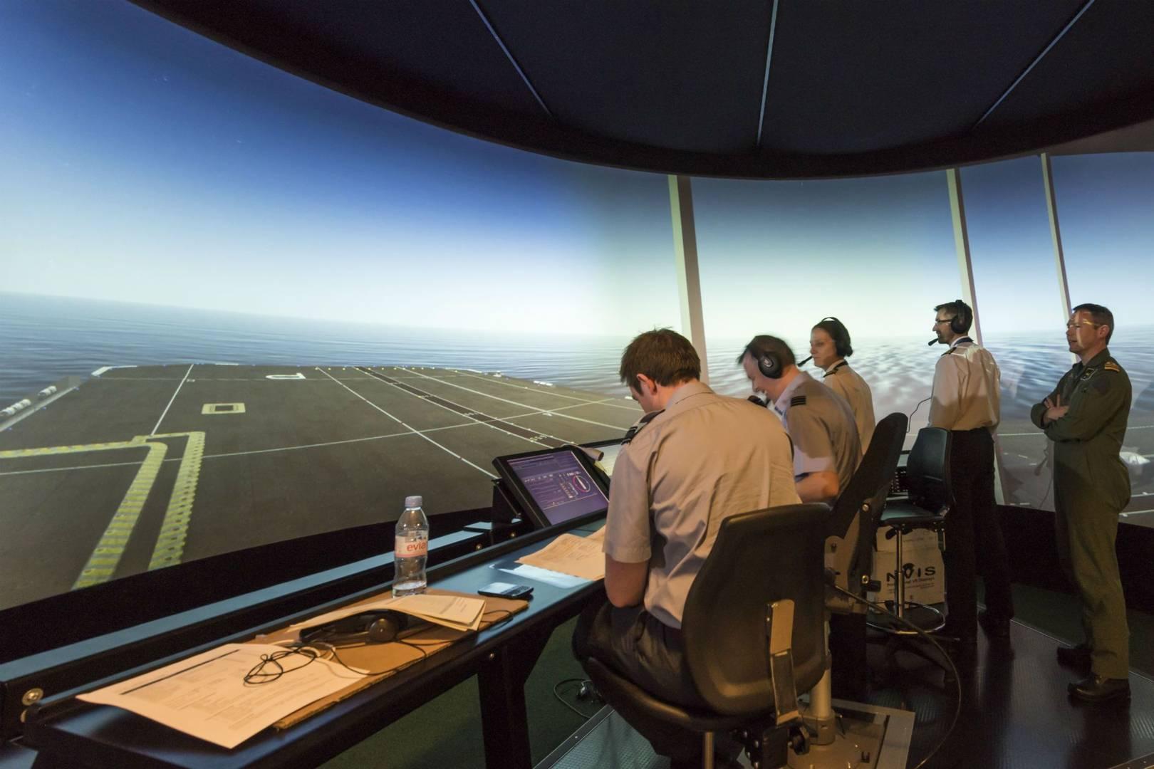 Carrier Landing Simulator