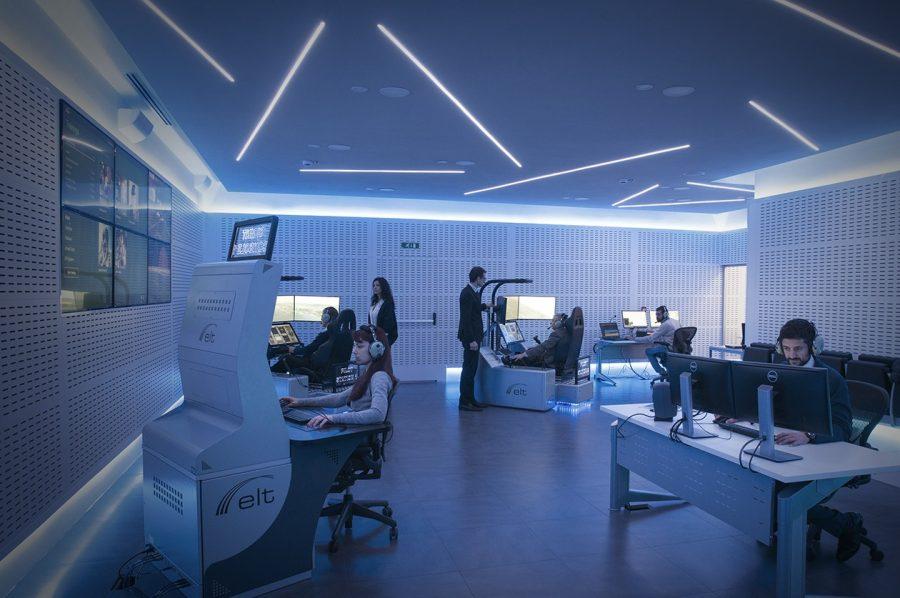 Six intelligence stations in the Battlelab