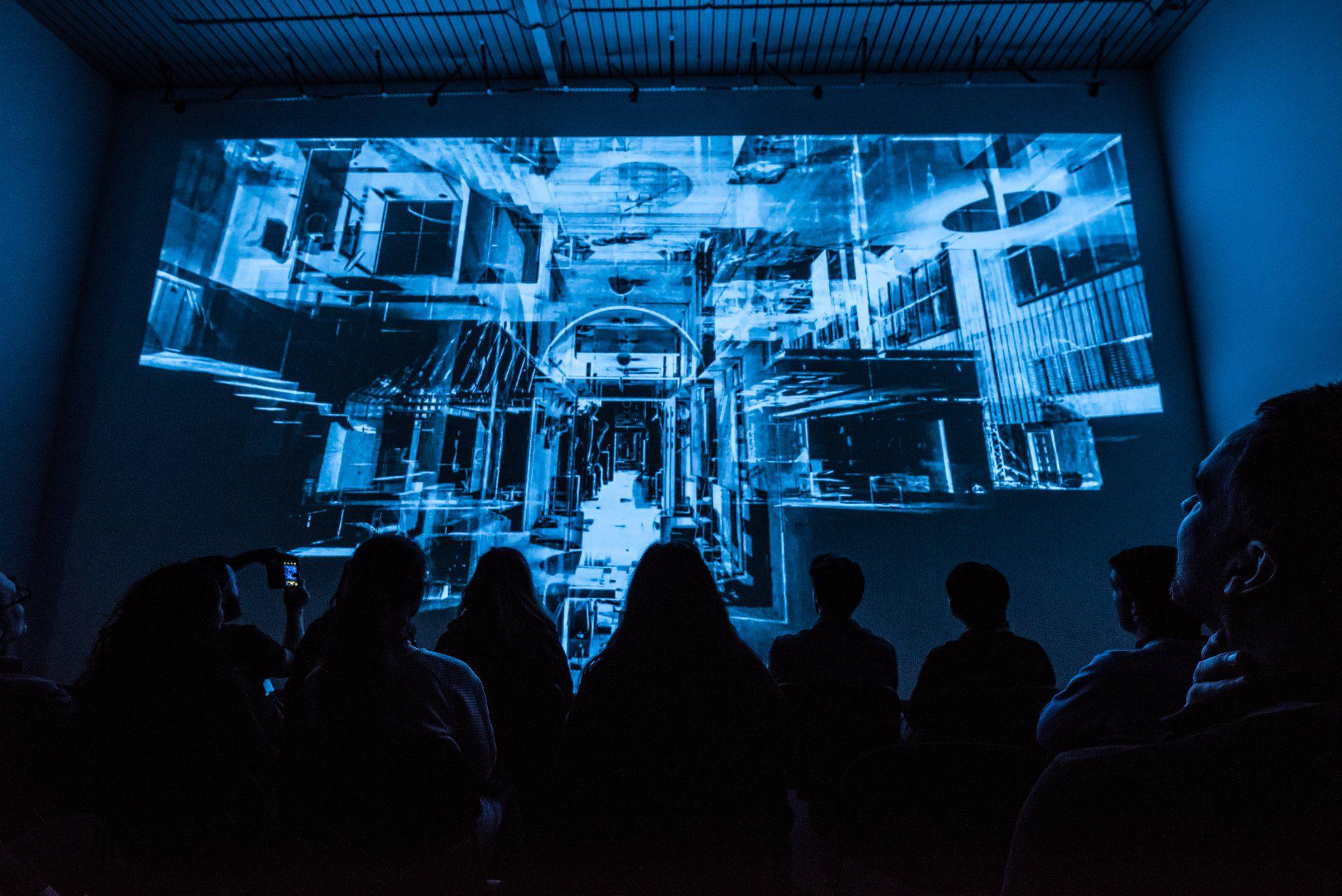 Glasgow SimVis VR theatre
