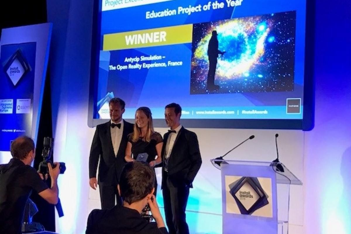 Antycip Simulation wins a 2018 Install award