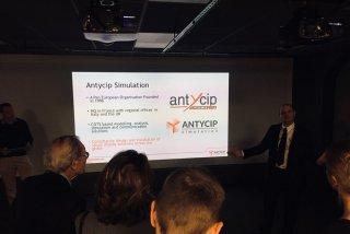 Presentation by Antycip Simulation's CEO Michel Pronier