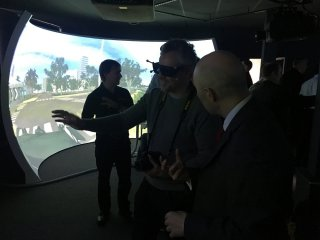 Group experiences VR