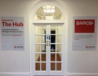 The Hub Reception Area