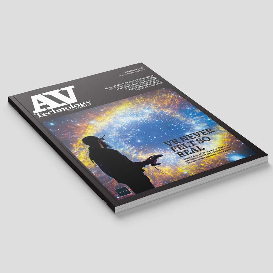 Antycip makes the front cover of AV Technology Europe