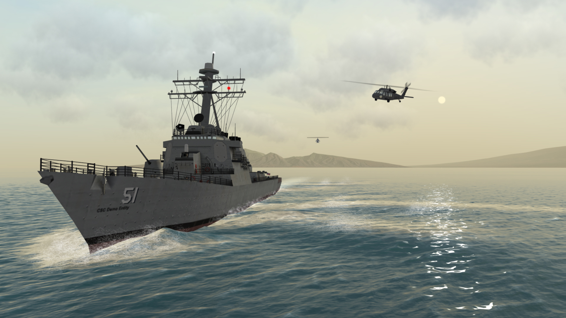 The Role of Simulators in Shipboard Defence Training