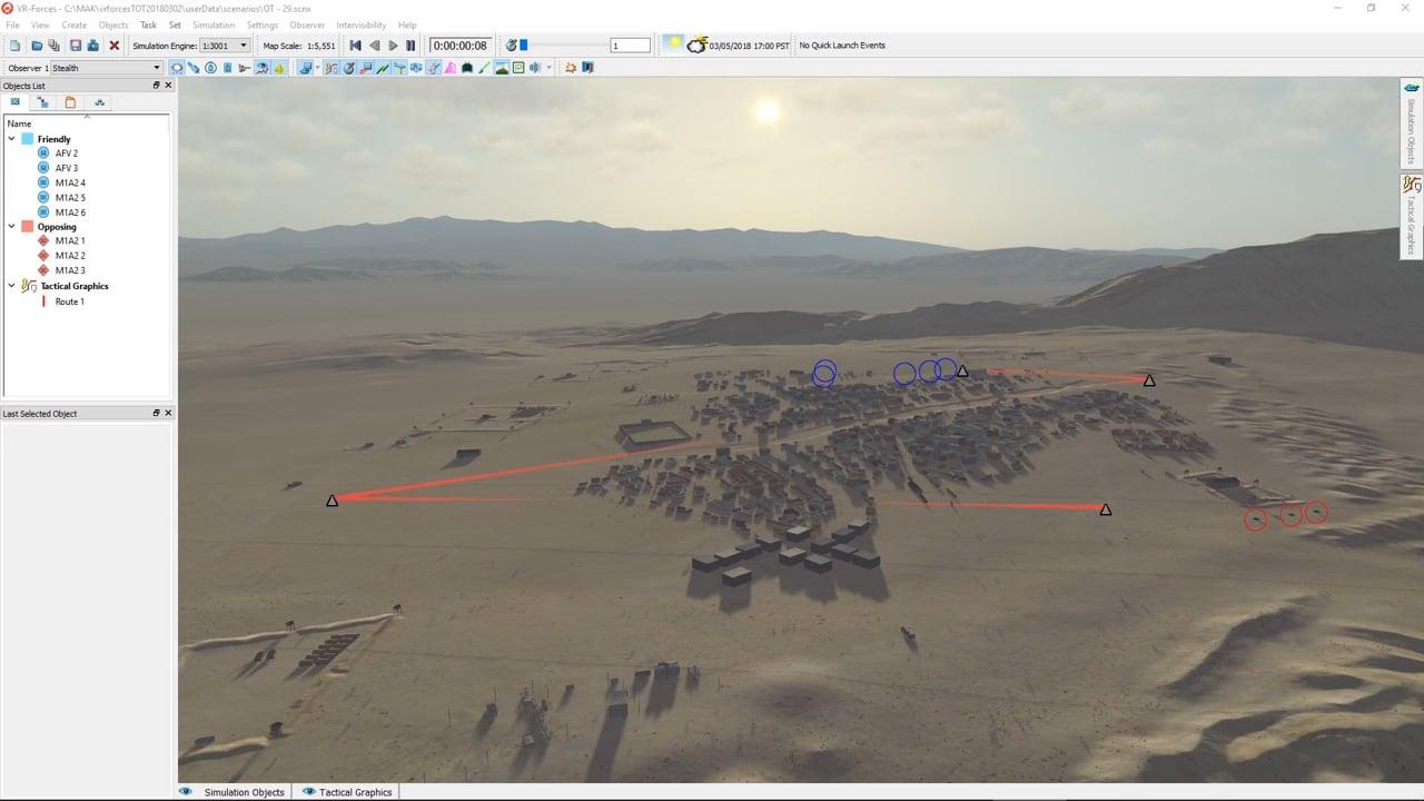 VT MAK release VR-Forces 4.5