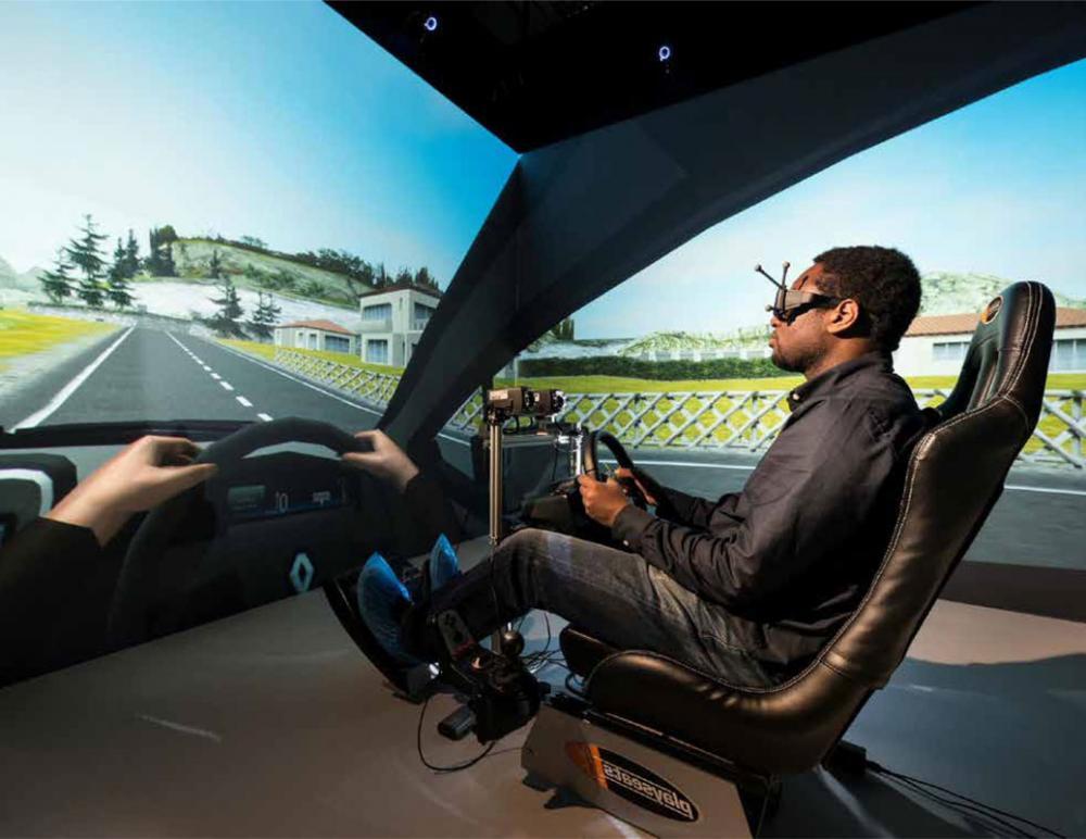 Antycip Simulation Brings Modular VR CAVE to Heudiasyc Laboratory