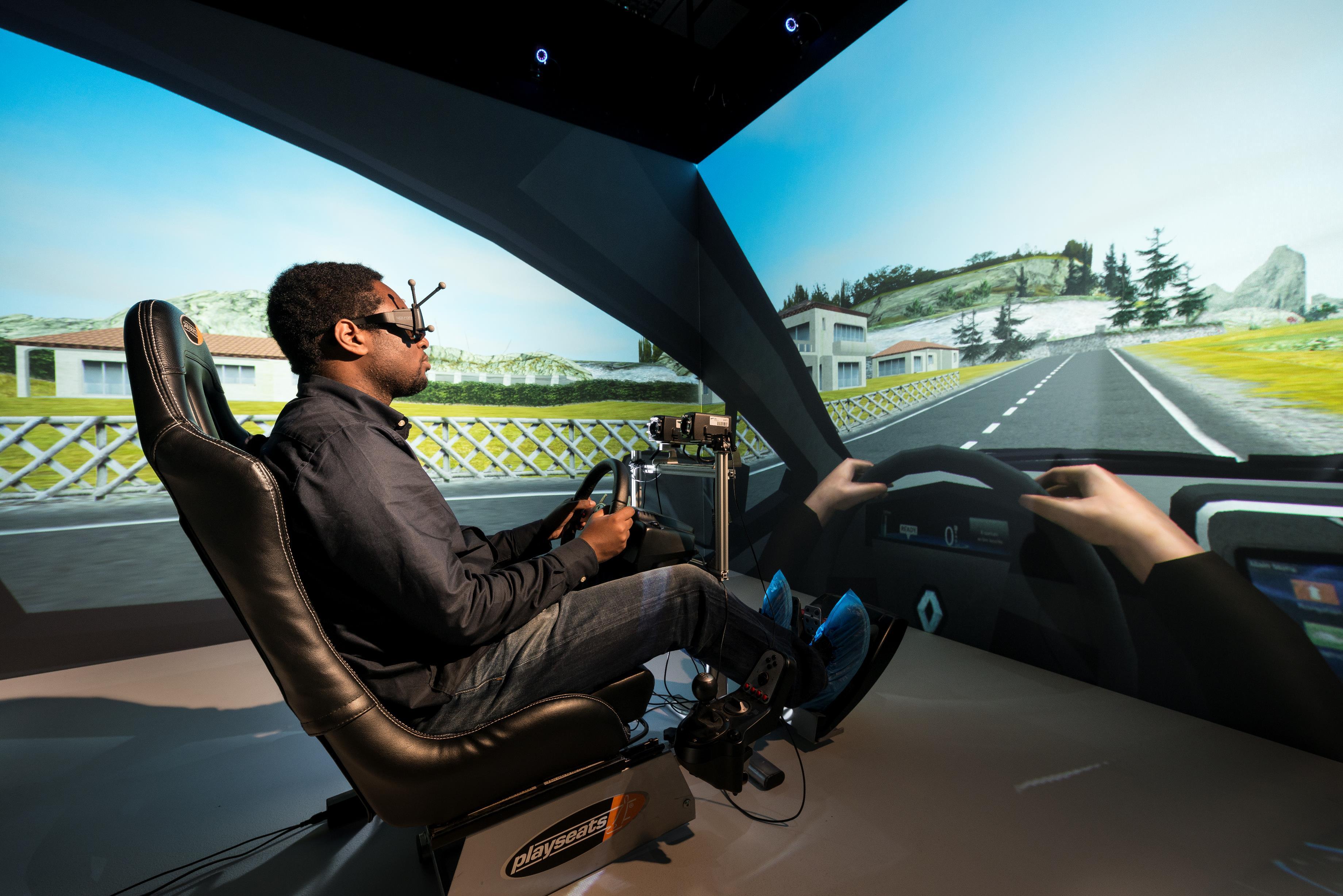 Heudyasic driving simulator