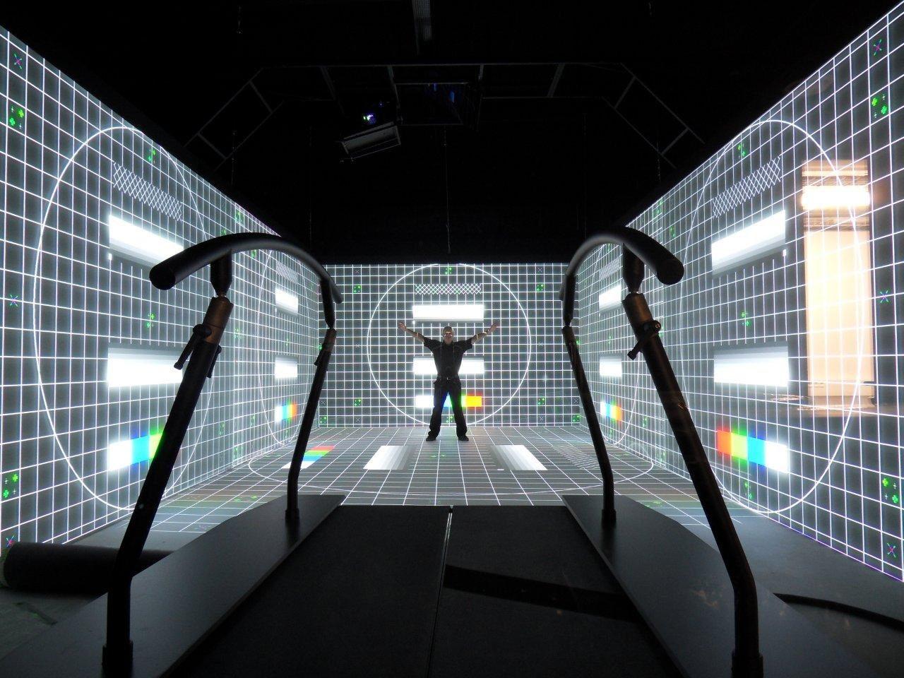 Caen VR CAVE Installation 2015