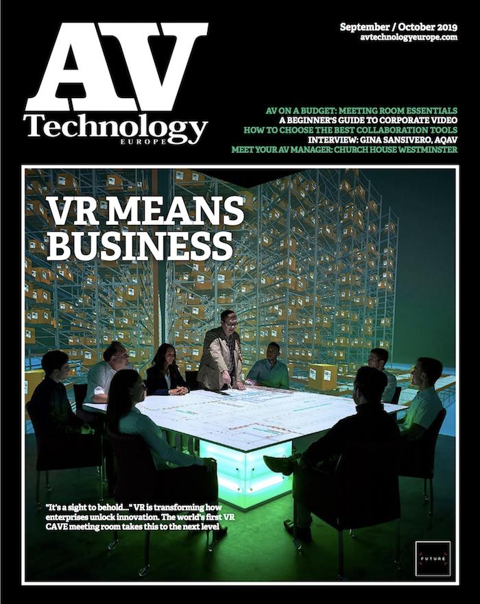 AV Technology – VR means business