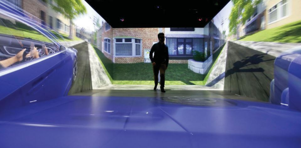 The HIKER Lab, the largest pedestrian VR Cave featured in InAVate