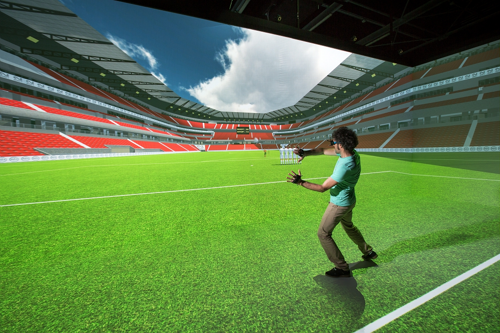 Antycip Simulation provides VR Room to the University of Rennes