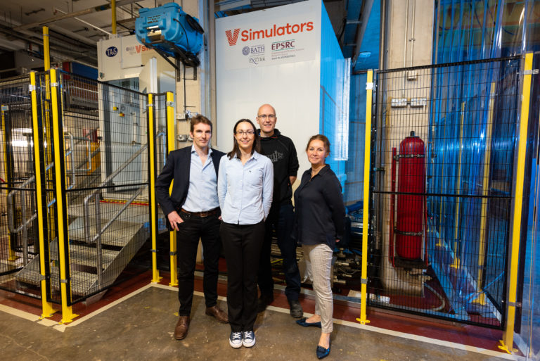 University of Bath reaches new heights with VSimulators facility