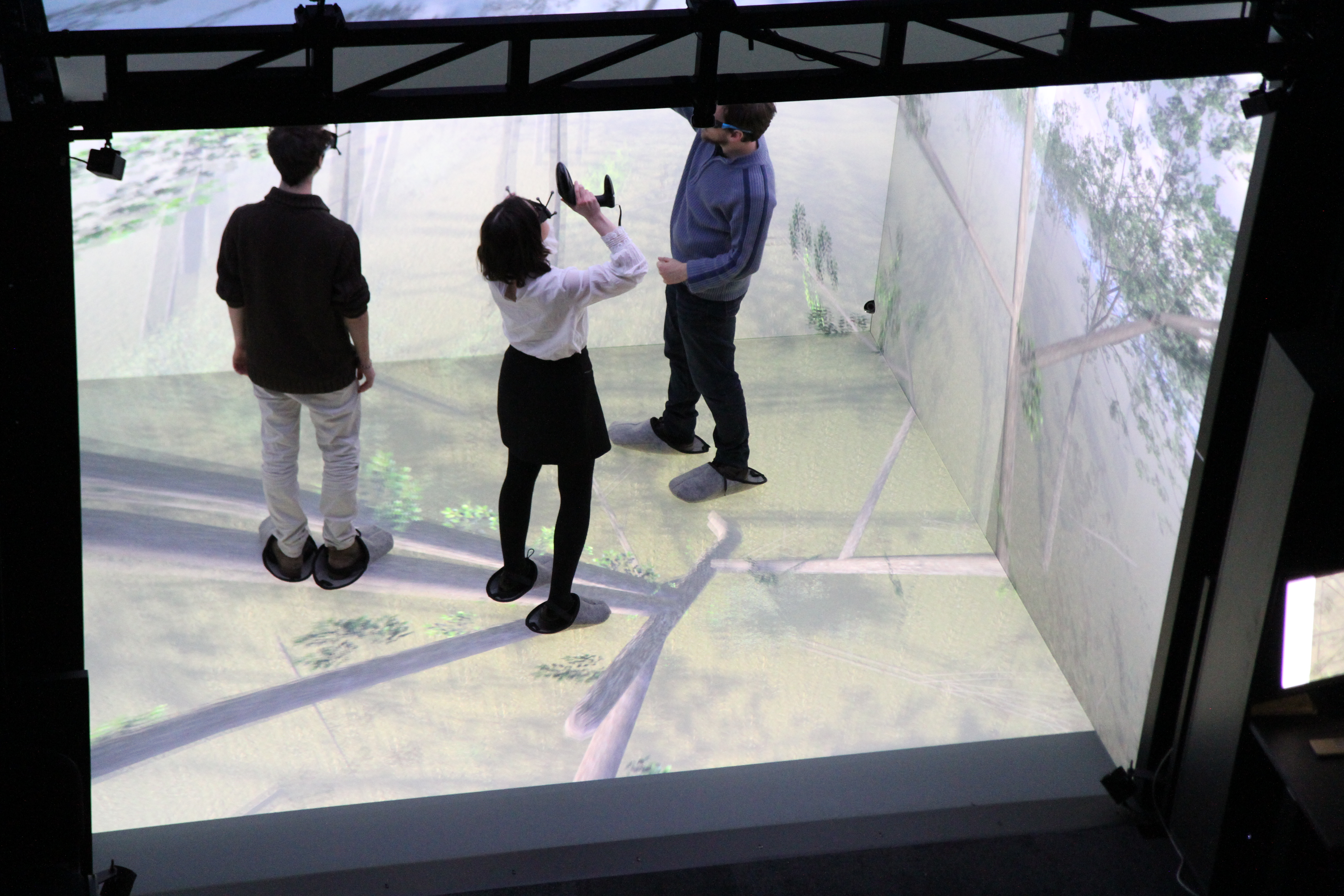 French Engineering School with Virtual Immersion Room