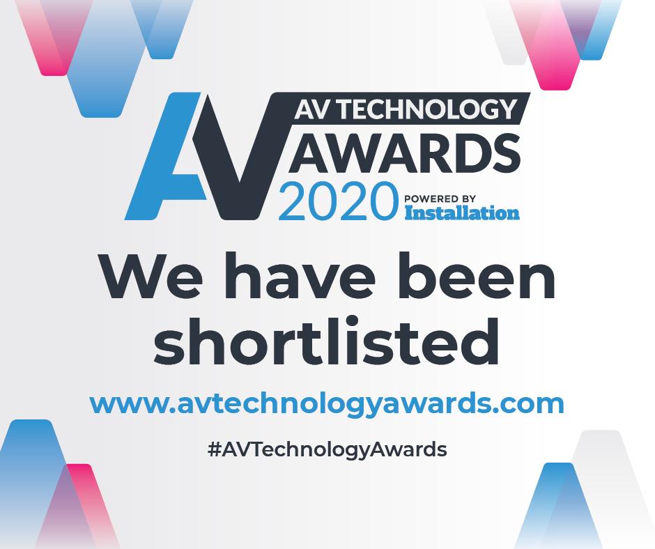 Antycip shortlisted for the AV award