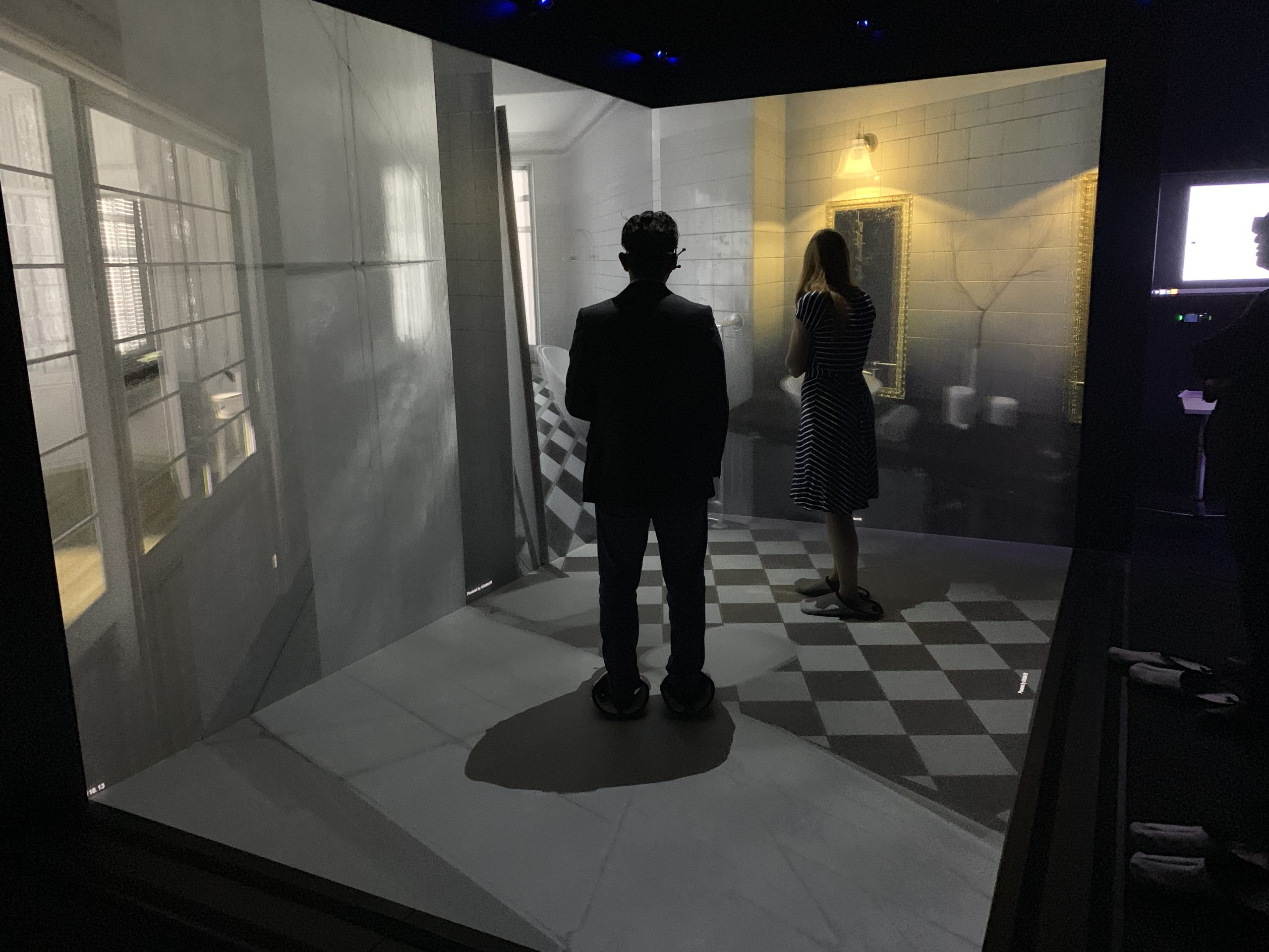 VR CAVE Brings State-of-the-Art Immersive Technology to Phidias Lab