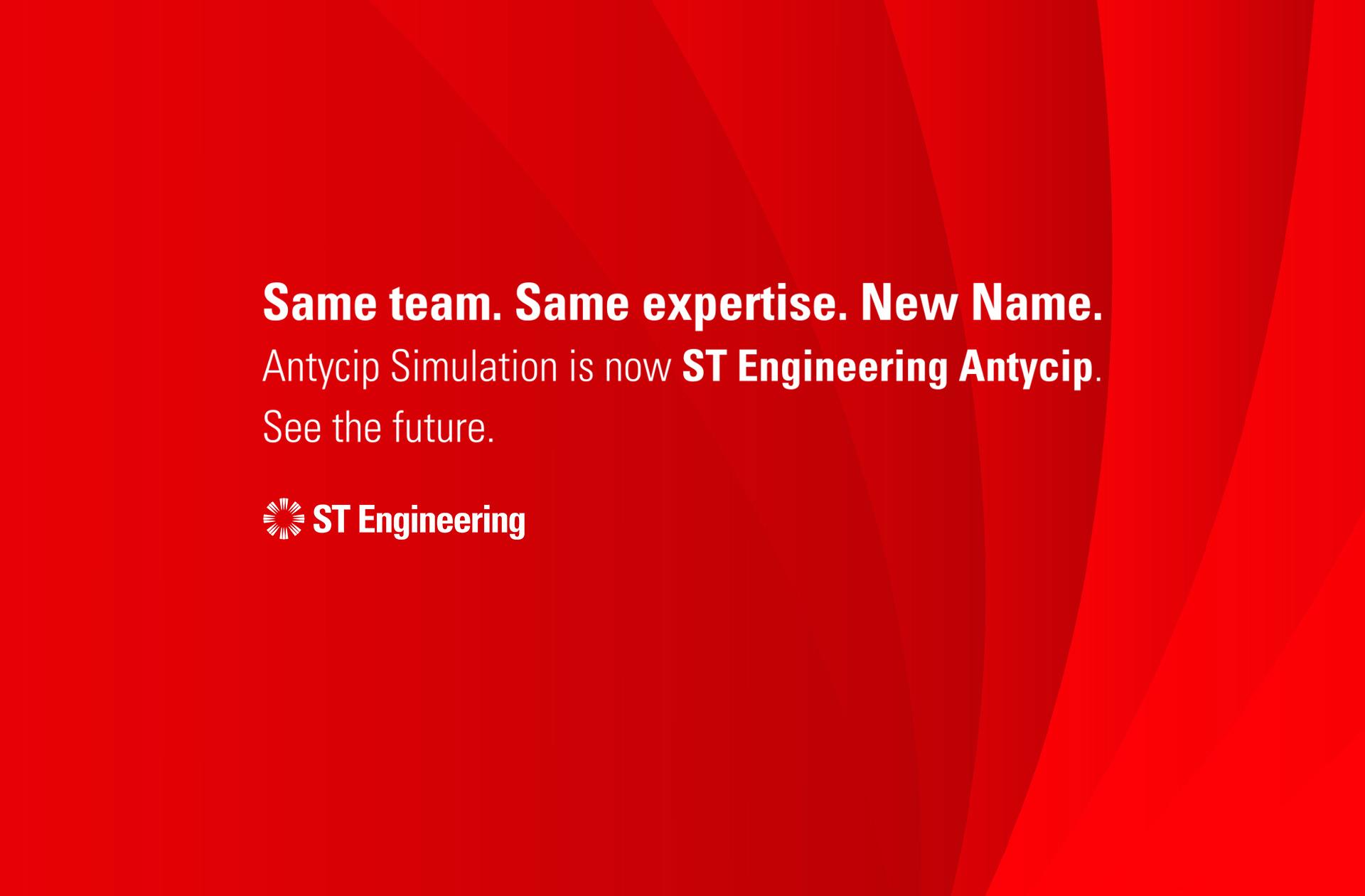 Antycip Simulation becomes ST Engineering Antycip