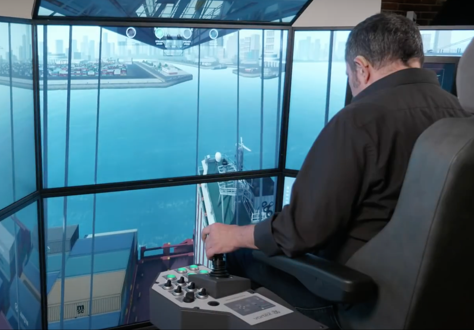 Simulation-based Training Solutions for Port Terminals