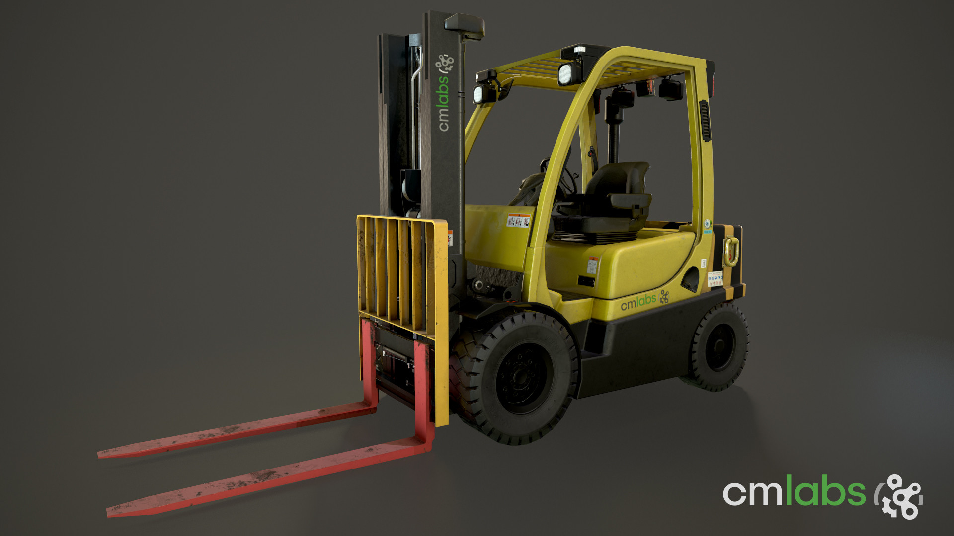 Forklift Training and Certification with CM Labs