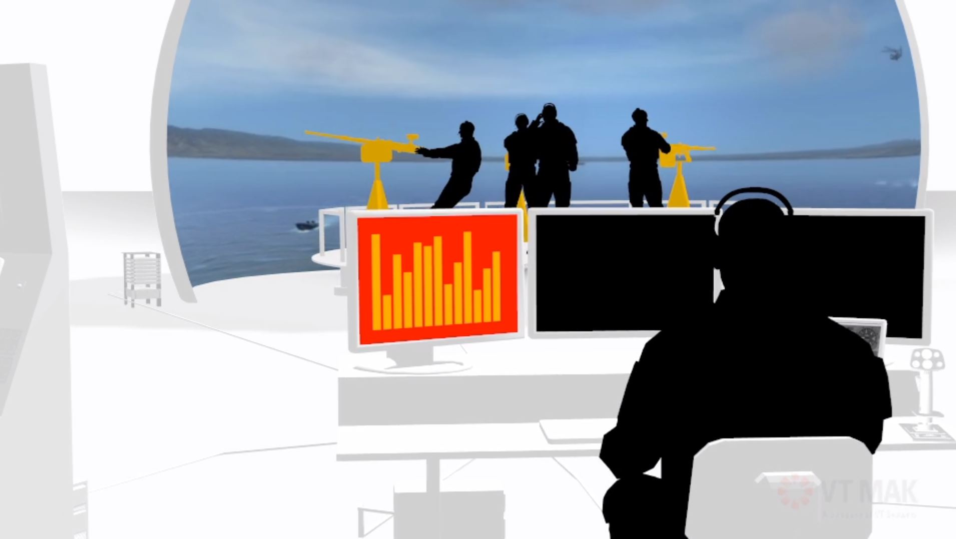 Synthetic Training Environment (STE) in the Marine Sector